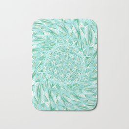 Green Blue Magic Mosaic Circulation Bath Mat