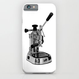 Europiccola La Pavoni Lever Espresso Machine iPhone Case