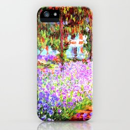 Monets Garden In Giverny iPhone Case