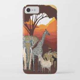 Jungle Jumble iPhone Case