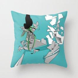 aquazen Throw Pillow