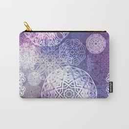 Floral luxury mandala pattern Carry-All Pouch