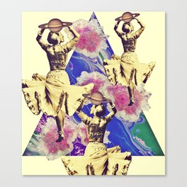 Spin destine Canvas Print