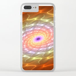 Aura Of A Galaxy Clear iPhone Case