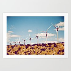 California Greening Art Print
