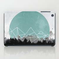 woods iPad Cases featuring Woods Abstract 2 by Mareike Böhmer