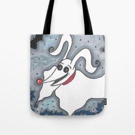 Ghost Dog Tote Bag