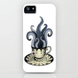 Kraken tea iPhone Case