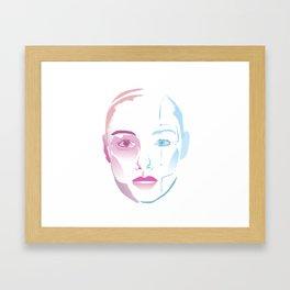 Lynn A.I. Framed Art Print