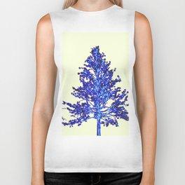 BLUE MOUNTAIN TREE ART Biker Tank