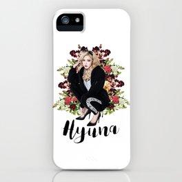 Bad Gal Hyuna iPhone Case
