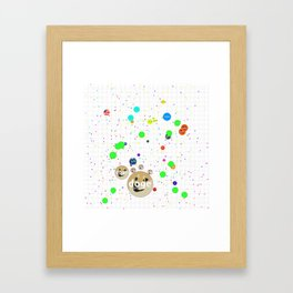 Agar.io Framed Art Print