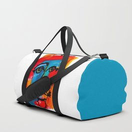 You Have to Face Yourself First Duffle Bag