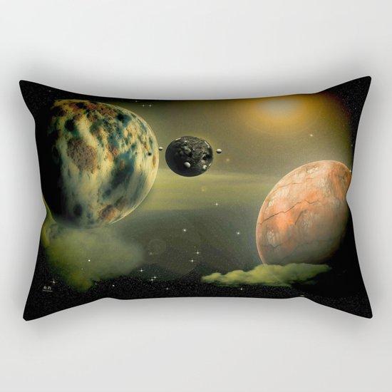 Space One Rectangular Pillow