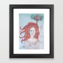 Rebirth and New Beginnings Framed Art Print