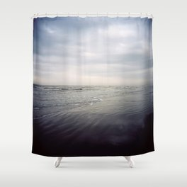 In The Darkest Light Shower Curtain