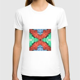 Abstract Pattern Design T-shirt