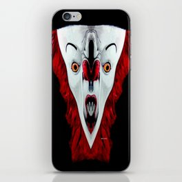 Creepy Clown 01215 iPhone Skin