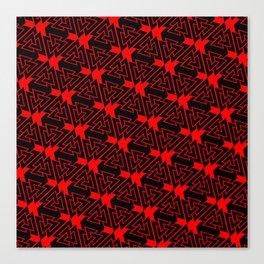 Valknut Pattern Canvas Print