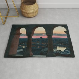 A lord's sunrise Rug