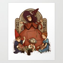 Adelaide, the Good Woman of the Woods Art Print