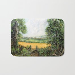 Forest Clearing - 1988 Bath Mat