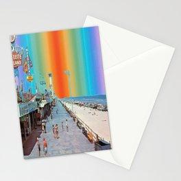 Boardwalk Rainbow Stationery Cards