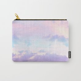 Unicorn Pastel Clouds #1 #decor #art #society6 Carry-All Pouch