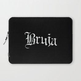 Bruja (White Text) Laptop Sleeve