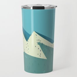 Rocky Mountains Travel Mug