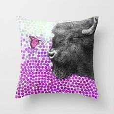 New Friends 4 by Eric Fan & Garima Dhawan Throw Pillow