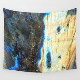 Labradorite Crystal Wall Tapestry