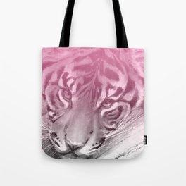 Tiger - Pink Tote Bag