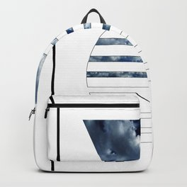 Abstract clouds geometry Backpack