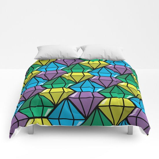 dimonds flow Comforters