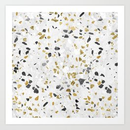 Glitter and Grit Art Print