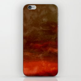 Abstract Clouds iPhone Skin