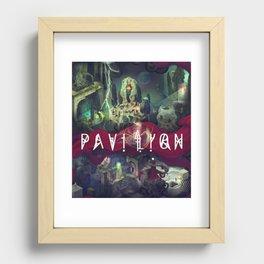 Pavilion Poster Recessed Framed Print