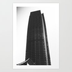 devon building Art Print