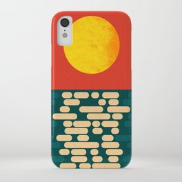 Sun Over The Sea - Afternoon iPhone Case
