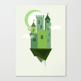 Sky Castle 2 Canvas Print