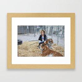 Tiger Macha Framed Art Print