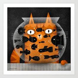 FISHING Art Print