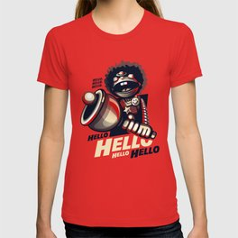 HELLO! HELLO! (red) T-shirt