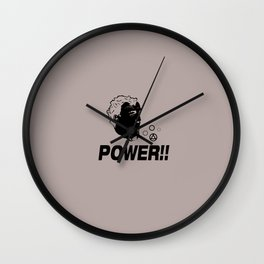 Top Gear - POWER!! Wall Clock