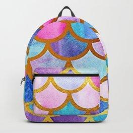 mermaid scales cool trending modern pattern Backpack