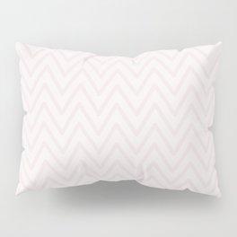 Mauve pink girly elegant geometrical chevron pattern Pillow Sham