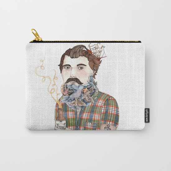 Flock of Beards Carry-All Pouch