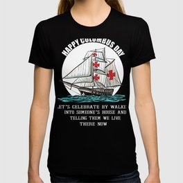Native American Day Anti Columbus Day  T-shirt