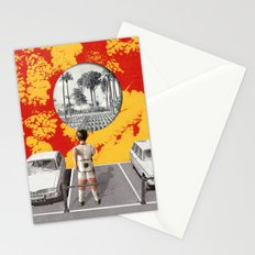 Le parking Stationery Cards